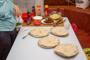 Shawarma facuta in casa